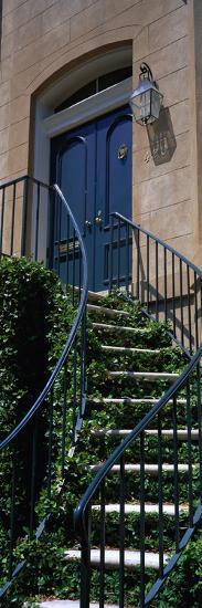 Low Angle View of a House, Savannah, Georgia, USA--Photographic Print