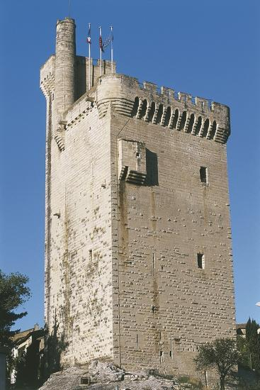 Low Angle View of a Tower--Photographic Print