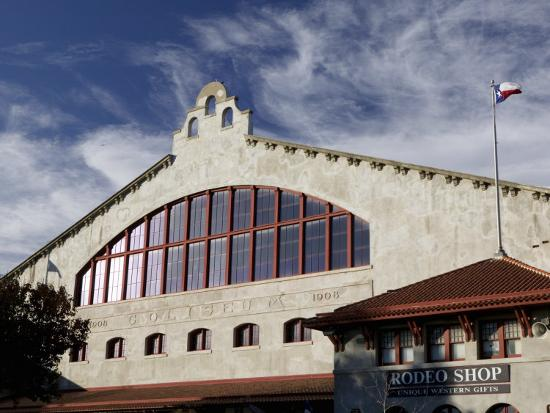 Low Angle View of an Amphitheater, Cowtown Coliseum, Fort Worth Stockyards, Fort Worth, Texas, USA--Photographic Print