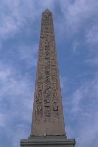 Low Angle View of an Obelisk, Obelisk of Luxor, Place De La Concorde, Paris, France
