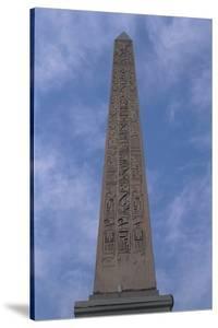 Low Angle View of an Obelisk, Obelisk of Luxor, Place De La Concorde, Paris, France