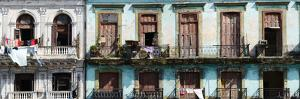 Low Angle View of Buildings, Havana, Cuba