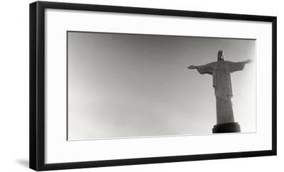 Low Angle View of Christ the Redeemer, Corcovado, Rio De Janeiro, Brazil