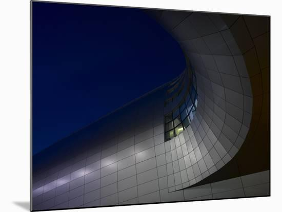 Low Angle View of Exterior of Dublin Airport, Terminal 2, Republic of Ireland-Ian Bruce-Mounted Photo