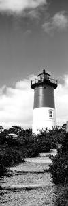 Low Angle View of Nauset Lighthouse, Nauset Beach, Eastham, Cape Cod, Barnstable County