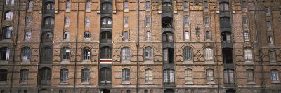 Low Angle View of Warehouses in a City, Speicherstadt, Hamburg, Germany--Photographic Print