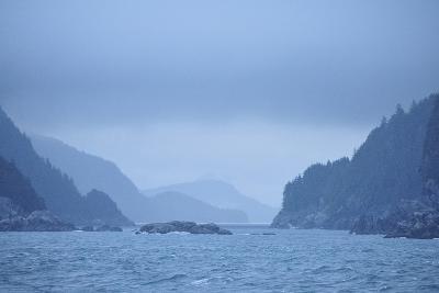 Low Clouds Hang Above the Rocky Landscape Near Port Althorp, Alaska-Jonathan Kingston-Photographic Print
