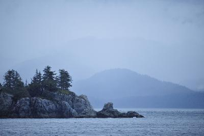 Low Clouds Hang Above the Rocky Landscape Near Port Althorp, Alaska-Jonathan Kingston-Photographic Print