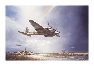 Low-flying Mosquito-John Young-Premium Giclee Print