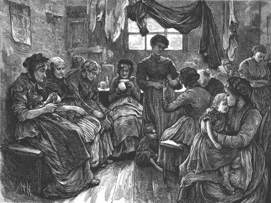 'Low Lodging House, St. Giles's', 1872-Unknown-Giclee Print