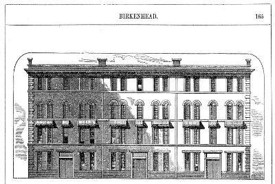 Low Rental Workmen's Dwellings Built by the Birkenhead Dock Co, C1844--Giclee Print