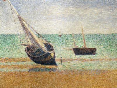 Low Tide at Grandcamp, 1885-Georges Seurat-Giclee Print