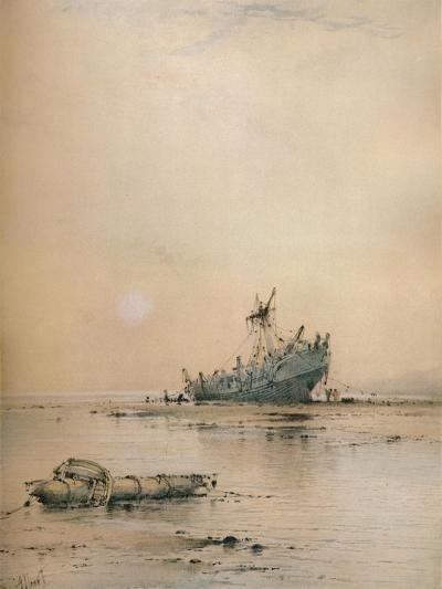 Low tide at Leigh, c1899-Albert Ernest Markes-Giclee Print