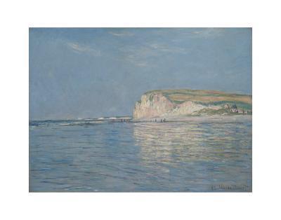 Low Tide at Pourville, c.1882-Claude Monet-Art Print