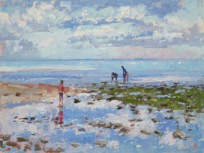 Low Tide Charmouth, 2012-Christopher Glanville-Giclee Print
