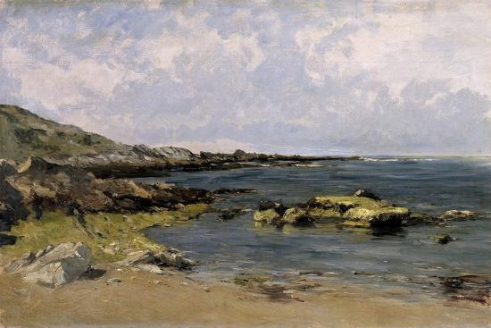 Low Tide (Guethary), Ca. 1881-Carlos de Haes-Giclee Print