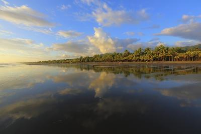 Low Tide Sunset on Playa Linda near Dominical-Stefano Amantini-Photographic Print