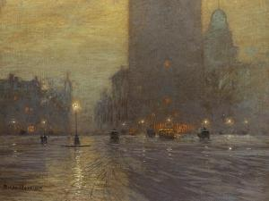 Madison Square by Lowell Birge Harrison