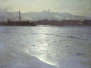 Winter on the St. Lawrence by Lowell Birge Harrison