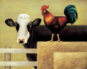 Barnyard Cow by Lowell Herrero