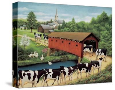 Cows in West Arlington by Lowell Herrero
