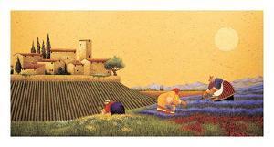 Hillside Flowers by Lowell Herrero