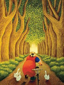 Home from the Market by Lowell Herrero