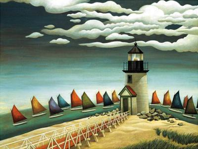 Rainbow Fleet by Lowell Herrero