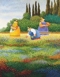 Spring Gathering by Lowell Herrero