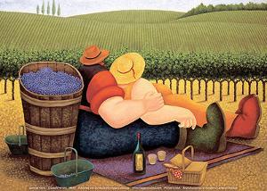 Summer Picnic by Lowell Herrero