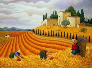 Village Harvest by Lowell Herrero