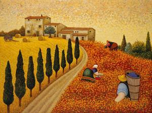 Village Landscape by Lowell Herrero