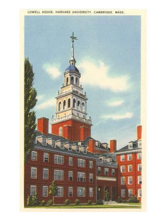 Lowell House, Harvard University, Cambridge, Mass.--Art Print