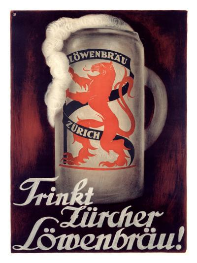 Lowenbrau-Otto Baumberger-Giclee Print