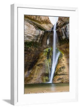 Lower Calf Creek Falls, Grand Staircase-Escalante National Monument, Utah, United States of America-Michael Nolan-Framed Photographic Print