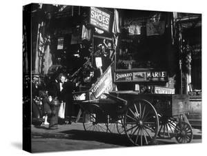 Lower East Side Jewish District in Nyc C. 1890 : Hester Street