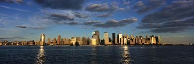 Lower Manhattan at Sunset, Viewed from Jersey City-Design Pics Inc-Photographic Print