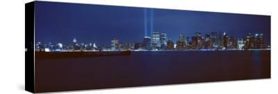 Lower Manhattan, Beams of Light, New York City, New York State, USA
