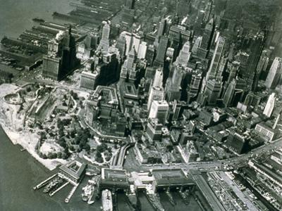 Lower Manhattan, New York, June 1947