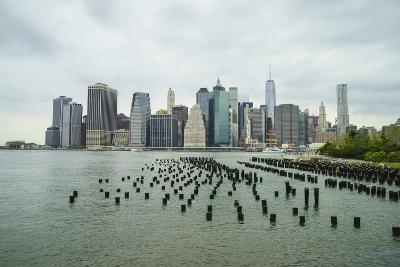 Lower Manhattan Skyline, New York City-Fraser Hall-Photographic Print