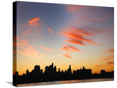 Lower Manhattan Skyline-Dale MacMillan-Stretched Canvas Print