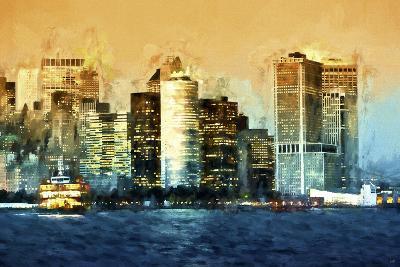 Lower Manhattan-Philippe Hugonnard-Giclee Print