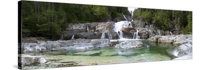 Lower Myra Falls, Vancouver Island, British Columbia, Canada-Shamil Nizamov-Stretched Canvas Print