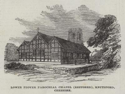Lower Peover Parochial Chapel (Restored), Knutsford, Cheshire--Giclee Print