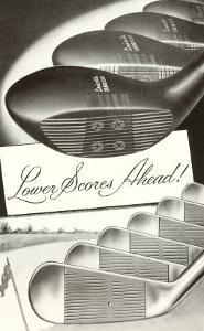 Lower Scores Ahead, Golf Woods and Irons
