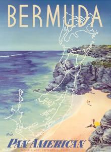 Bermuda - via Pan American World Airways by Loweree