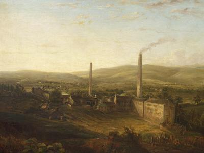 Lowerhouse Print Works, Burnley--Giclee Print
