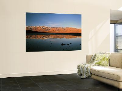 Lowest Elevation in North America, Badwater Basin, Death Valley National Park, California, USA-Bernard Friel-Wall Mural