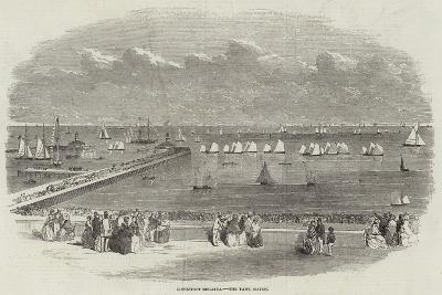 Lowestoft Regatta, the Yawl Match--Giclee Print