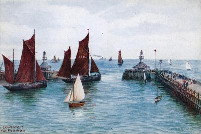Lowestoft, the Pier Head-Alfred Robert Quinton-Giclee Print